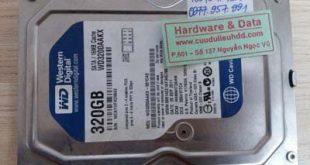 7054 ổ cứng Western 320GB đĩa kém