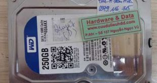 7111 ổ cứng Western 250GB lỗi đầu từ