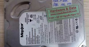 7126 ổ cứng Maxtor 80Gb bị bó cơ