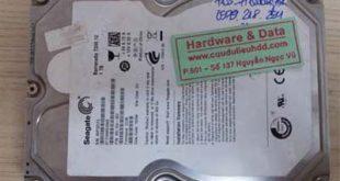 7135 ổ cứng Seagate Desktop 1TB bị chết cơ