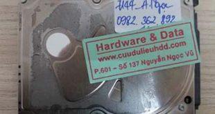 7144 HDD Seagate Laptop 640Gb bị mất phân vùng