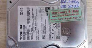 7152 HDD Desktop Toshiba 500GB chết cơ