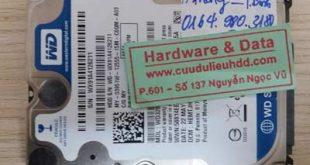 11-1 Western 320GB bị lỗi đầu đọc