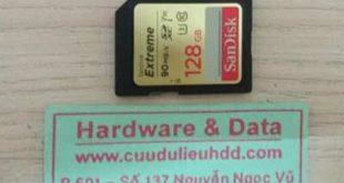 16-12 thẻ nhớ 128GB nhiễm virus
