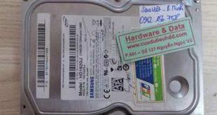 21-12 Samsung 160GB lỗi cơ