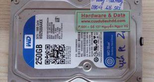 26-12-Western 250GB bị hỏng cơ
