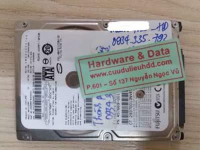 28-12 Fujitsu 120GB hỏng cơ