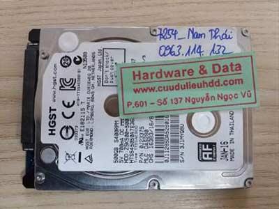 7254 Seagate 500GB đầu từ lỗi