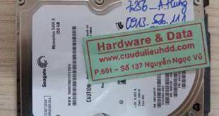 7256 Seagate 500GB bị hỏng cơ