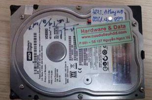 7273 ổ cứng western 80GB bị hỏng cơ