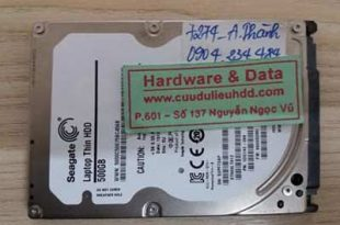7274 Seagate 500GB bị chết cơ