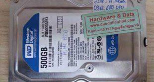 Ngày 10-2-2018 cứu dữ liệu ổ cứng cho anh Mạnh, SĐT: 09126xx040. Ổ cứng máy bàn Western 500GB model: WD5000AAKX bị chết cơ. Sau 2 ngày dữ liệu của anh Mạnh được cứu lại thành công.