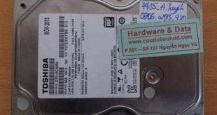 7435 Toshiba 500GB hỏng đầu từ