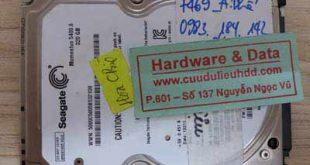 7469 Seagate 320GB hỏng cơ