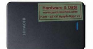Khôi phục dữ liệu ổ cứng di động Hitachi 1Tb