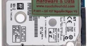 Cứu dữ liệu ổ cứng laptop Hitachi bad nặng
