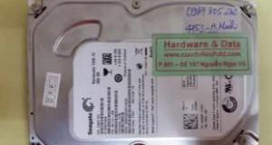 Cứu dữ liệu Seagate 250 GB