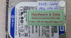 khôi phục dữ liệu WD7500BPVX