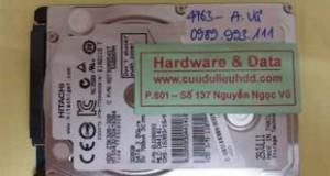 Cứu dữ liệu Hitachi 320GB