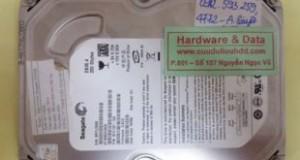 Phục hồi dữ liệu ổ cứng Seagate 320Gb cháy mạch