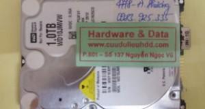 Lấy lại dữ liệu ổ cứng Western chết cơ đĩa kém