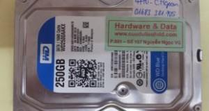 Khôi phục dữ liệu ổ cứng PC Western chết cơ