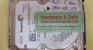 Phục hồi dữ liệu ST9500423AS