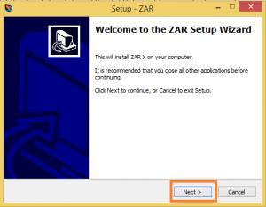 Ứng dụng khôi phục dữ liệu thẻ nhớ bằng công cụ ZAR
